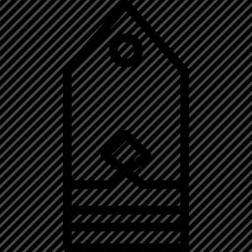 ensign, insignia, military, navy, rank icon