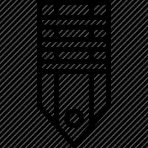 badge, military, rank, stripes, tag, three icon