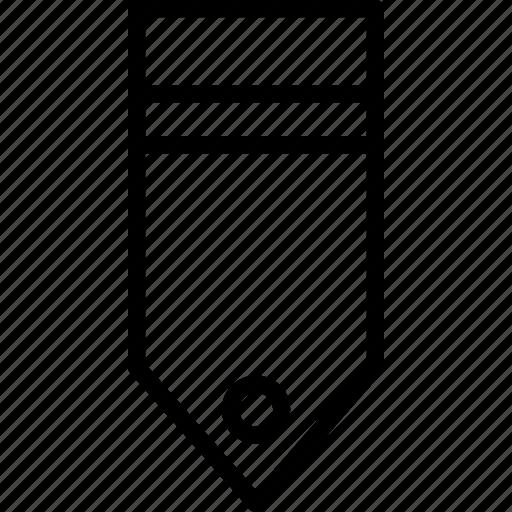 military, one, rank, stripe, tag icon