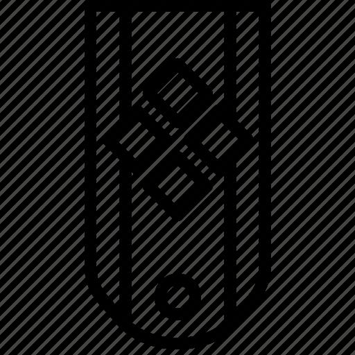 diamonds, four, insignia, military, rank, striped icon