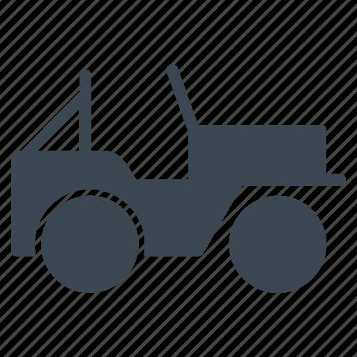 jeep, military, transportation, vehicle icon