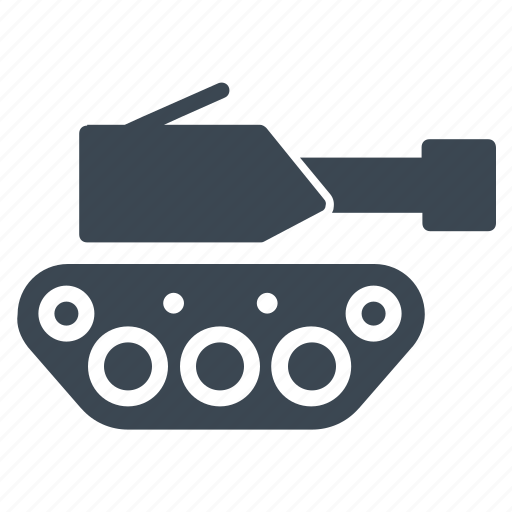 military, tank, vehicle icon