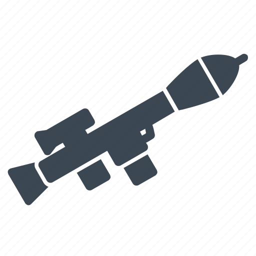launcher, military, rocket, rpg, weapon icon