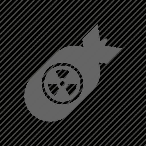 atom, atomic, bomb icon