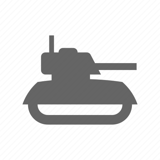 military, power, tank icon