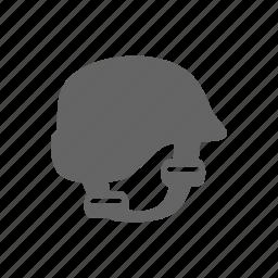 head, helmet, protection icon