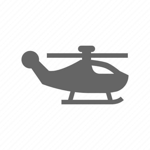 air, helicopter icon