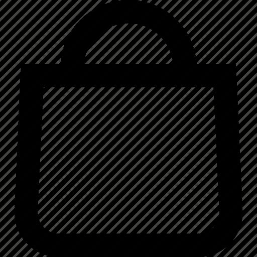 bag, business, commerce, purchase, shop, shopping bag, supermarket icon