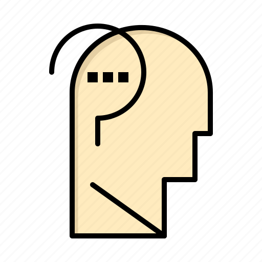 brain, confuse, mind, question icon