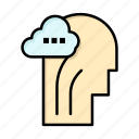 activity, brain, head, mind icon