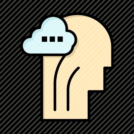 activity, brain, head, mind icon