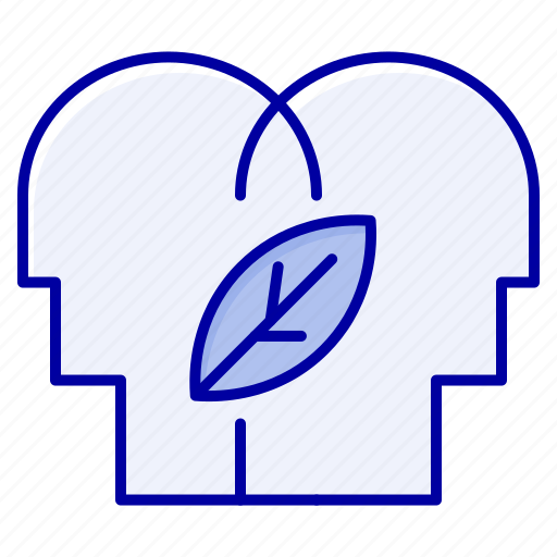 Eco, head, mind icon - Download on Iconfinder on Iconfinder
