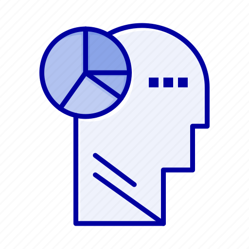 Graph, head, mind, thinking icon - Download on Iconfinder