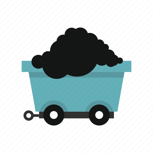 Cart, coal, energy, load, transport, wheel, wheels icon - Download on Iconfinder