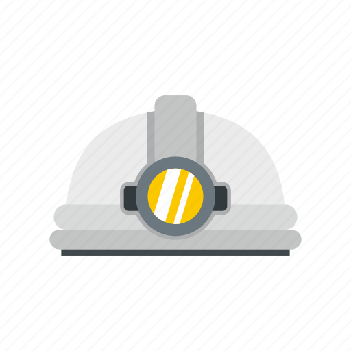 Construction, hat, helmet, industry, light, safety, work icon - Download on Iconfinder