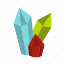 crystal, diamonds, gem, gift, jewel, precious, treasure icon