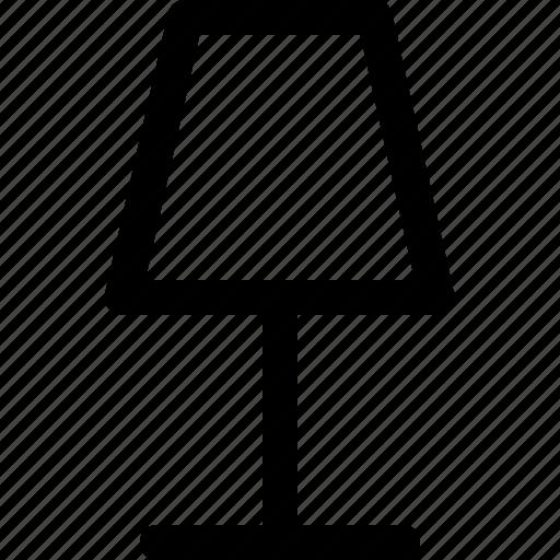 equipment, home, lamp, light, lighting, standing icon