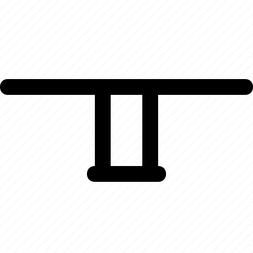 furniture, home, legged, single, table icon
