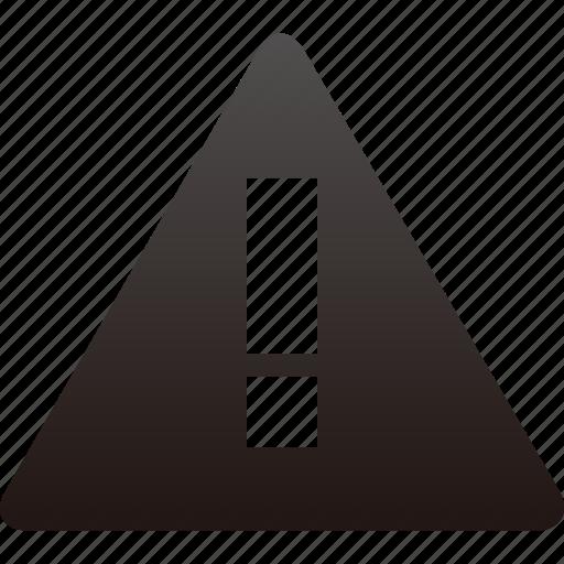 Alert, warning, alarm, attention, error, danger, exclamation icon - Download on Iconfinder