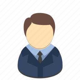 avatar, business, businessman, man, profession icon
