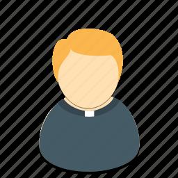avatar, man, pastore, profession icon