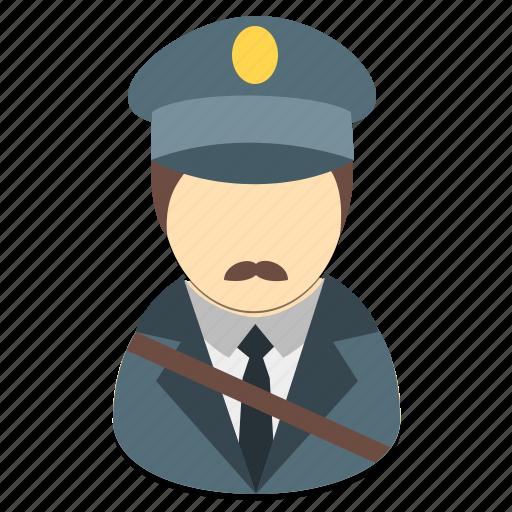 avatar, male, man, person, postman, profession icon