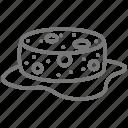 loofa, sponge, water icon