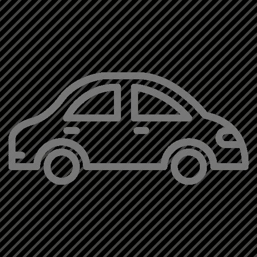 Car, commute, sedan, vehicle icon - Download on Iconfinder