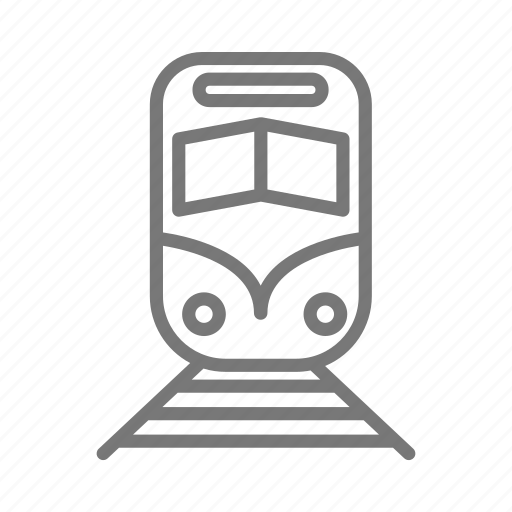 Commute, rail, train icon - Download on Iconfinder