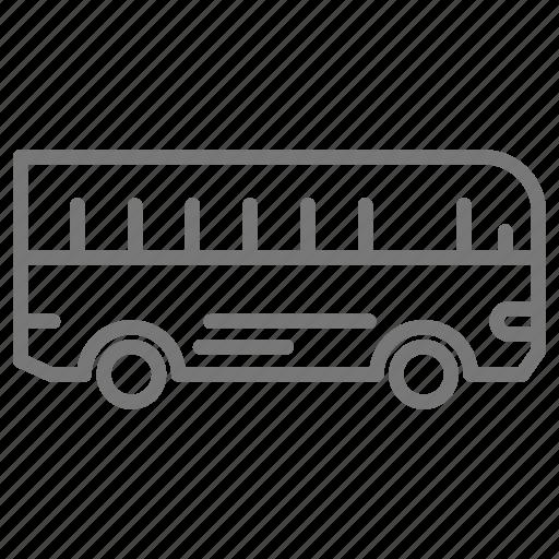 Bus, commute, public, transportation icon - Download on Iconfinder