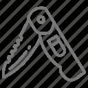 cut, fish, fishing, flay, gut, knife, utility icon