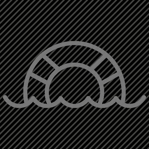 float, innertube, life, ocean, saver, sea, water icon