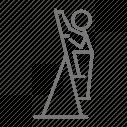 cardio, climb, exercise, gym, machine, sweat, workout icon