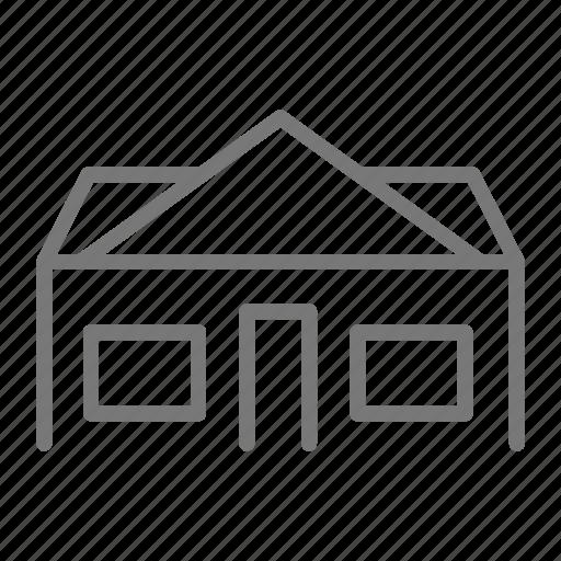 family, home, house, neighborhood, window icon