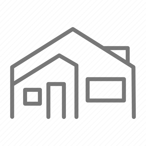 door, family, home, house, window icon