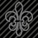 fleur de lis, fleur-de-lis, mardi gras, new orleans icon