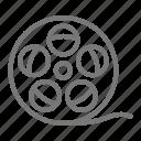 movie, reel, film, filmmaking