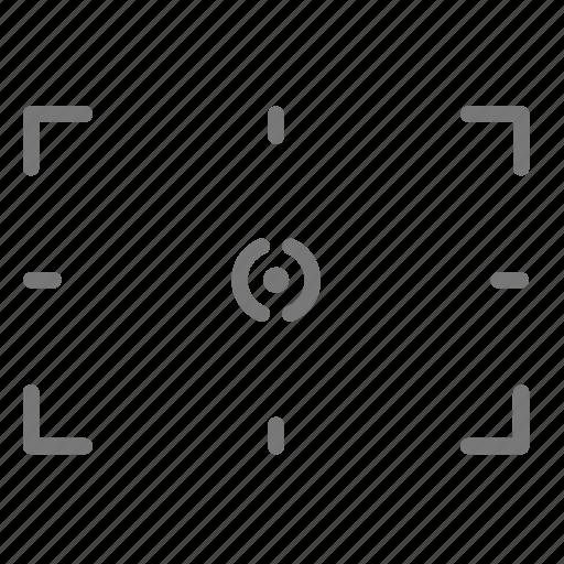 camera, digital, exposure, field, focus icon