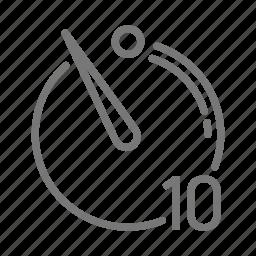 camera, delay, exposure, photo, picture, second, timer icon