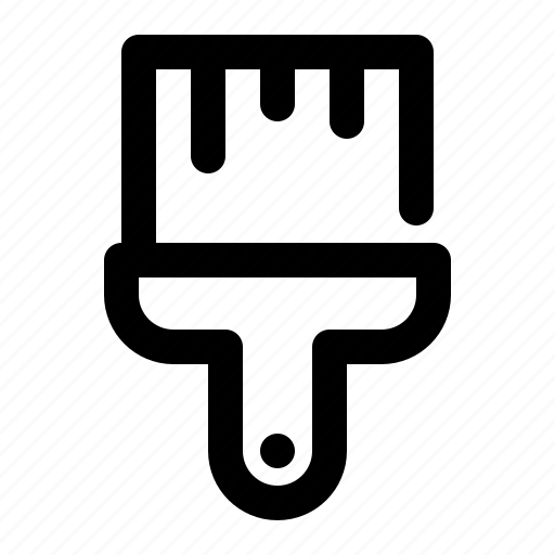 design, paint, paintbrush icon