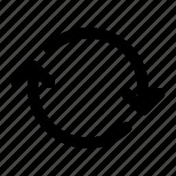 refresh, sync, syncronization, update icon