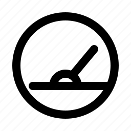 gauge, measure, speed icon