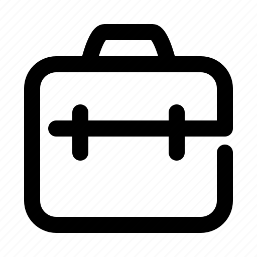 bag, business, documents icon