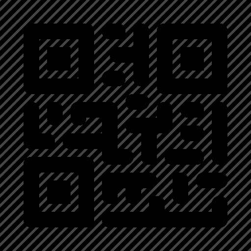 qr, qr code, scan icon