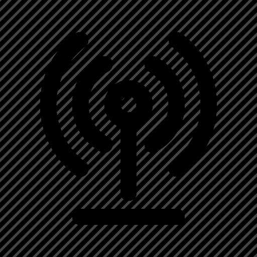 antena, internet, network, signal, wireless icon