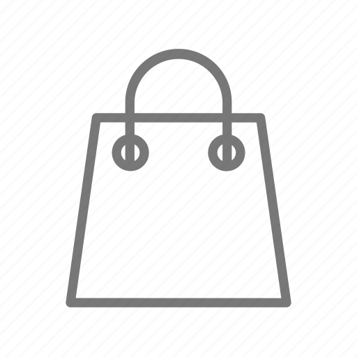 bag, paper, purchase, shop, store icon