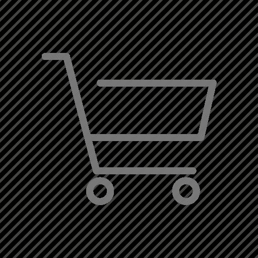 cart, shop, store, wheels icon