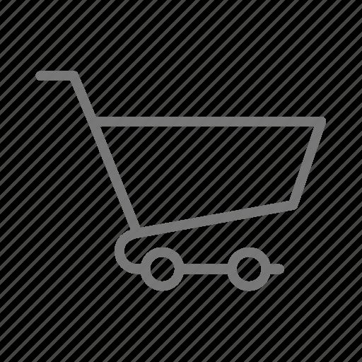 cart, market, shop, store, wheels icon