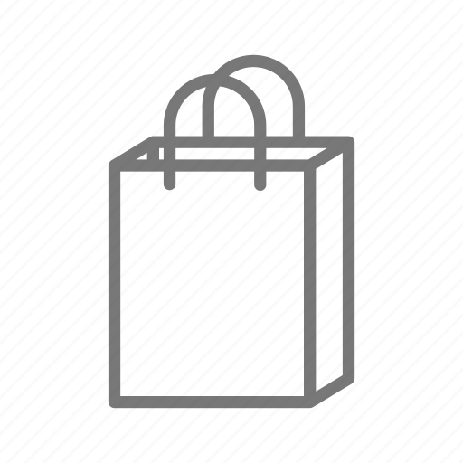 bag, paper, purchase, sale, shop, store icon