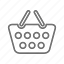 basket, market, purchase, shop, store icon